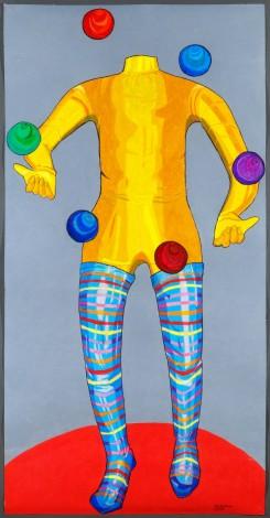 Circus the juggler