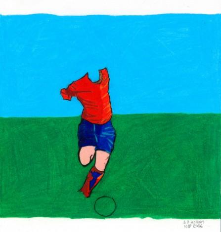 Footballer No7 Hidden Ball