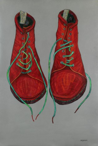 Mels Boots Red