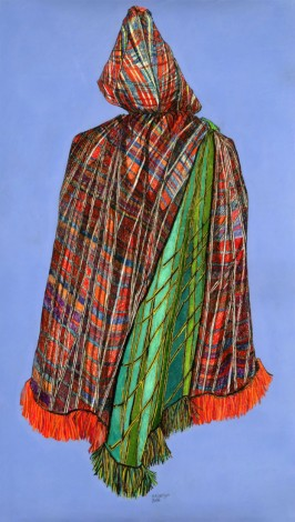 Tartan cape